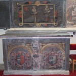 Painted altar