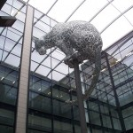 Leopard in Marischal Sq.