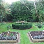Period flower beds