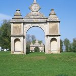 Ornamental Tudor arch