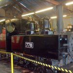 in engine shed