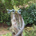 Snake pool bronze