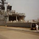 "Japanese SDF destroyer ""Shirane"""