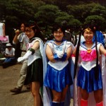 Comiket cos-players