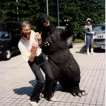 Geoff & Godzilla at Daicon, Osaka
